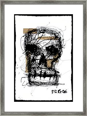 Skull Framed Print by Dmitry Gubin