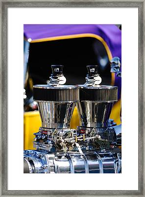 Skull - Engine Ornaments Framed Print
