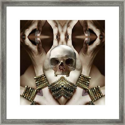 Skull Magic Framed Print