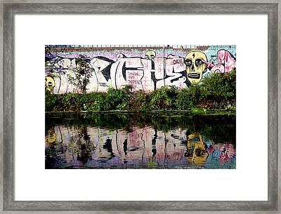 Skull Of Entire Framed Print by Jez C Self