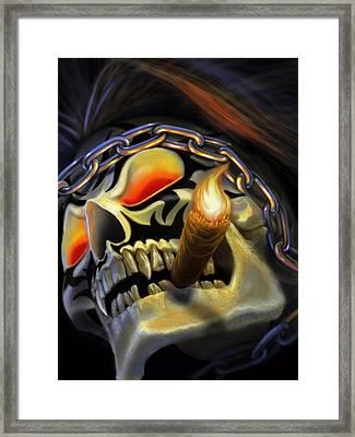 Skull Project Framed Print