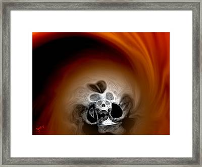 Skull Scope 3 Framed Print