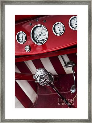 Skull Shifter Framed Print by Tim Gainey