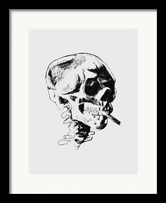 Vangogh Mixed Media Framed Prints