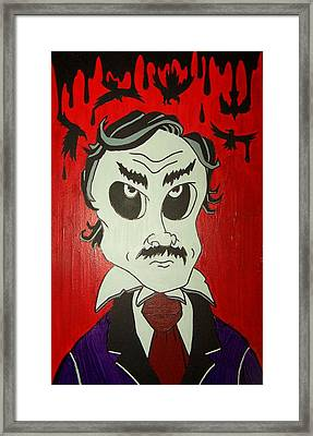 Skully Poe Framed Print by Chris  Fifty-one