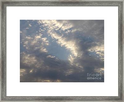 Framed Print featuring the photograph Sky 2 by Rod Ismay