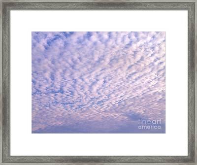 Sky 4 Framed Print by Rod Ismay