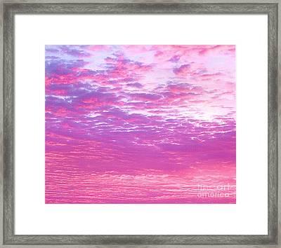 Sky 7 Framed Print by Rod Ismay