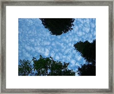Sky Above Me Framed Print by Ken Day