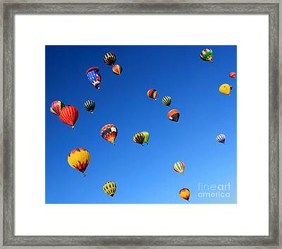 Sky Adventure Framed Print by Krissy Katsimbras