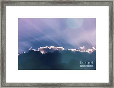 Sky Art Framed Print