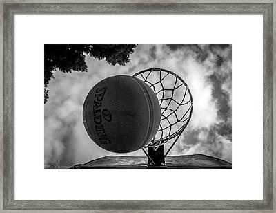 Sky Ball Framed Print