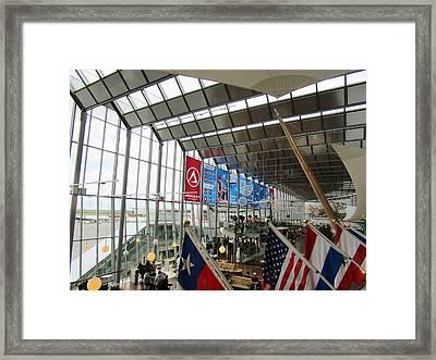 Sky City Lines Framed Print by Rosita Larsson