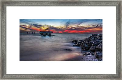 Sky Colors Framed Print