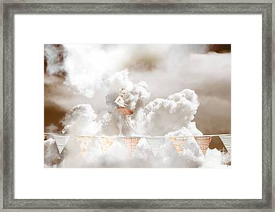 Sky Dance Framed Print
