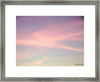 Framed Print featuring the photograph Sky Dancer by Betty Northcutt