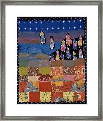 Sky Dancers Framed Print by Roberta Baker