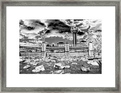 Sky Dome - Se1 Framed Print