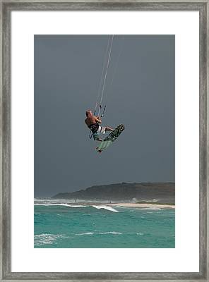 Sky Drops Framed Print by Joe Teceno