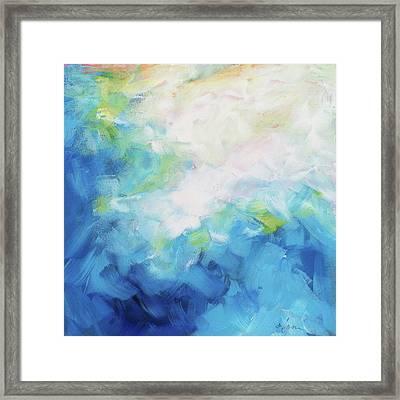 Sky Fall Framed Print
