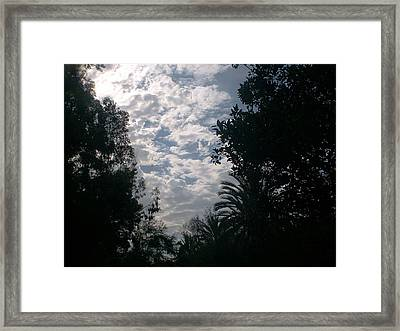 Sky Framed Print by Guillermo Mason