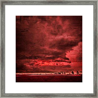 Sky Is Crying Framed Print