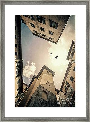 Sky Is High Framed Print