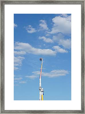 Sky Is The Limit Framed Print