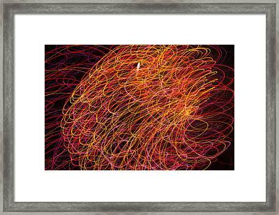 Sky Light - 6049 Framed Print by David R Mann