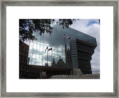 Sky Mirror Framed Print by Valia Bradshaw