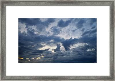 Sky Moods - Happenings Framed Print
