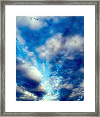 sky Framed Print by Niki Mastromonaco
