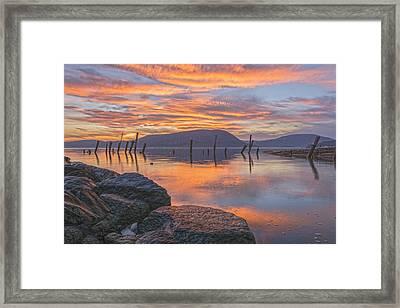 Sky Of Fire Framed Print