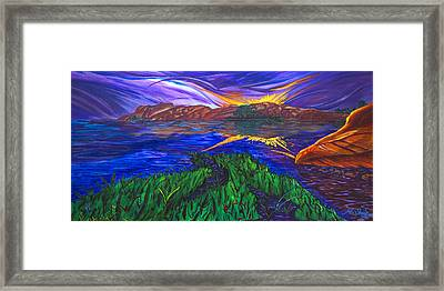 Sky Of Grace Framed Print by Clark Sheppard