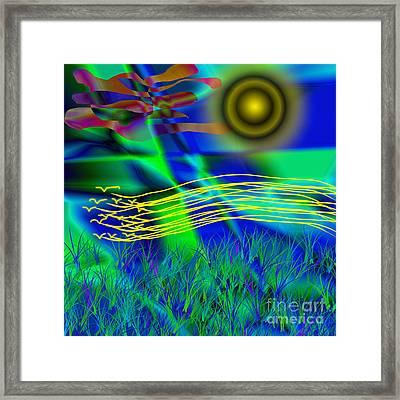 Sky Of Mind Framed Print