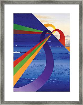 Sky Over St. Barts Framed Print by Eliot LeBow