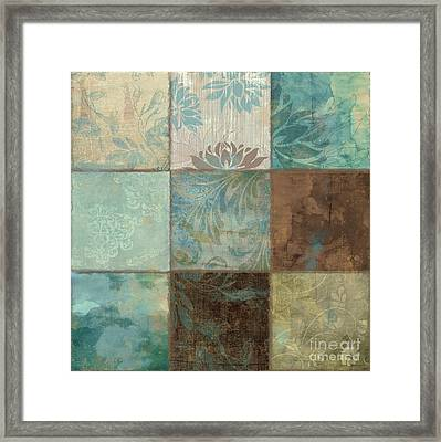 Sky Patches II Framed Print by Mindy Sommers