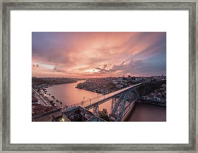 Framed Print featuring the photograph Sky Pierce by Bruno Rosa