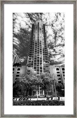 Sky Point Framed Print by Marvin Spates