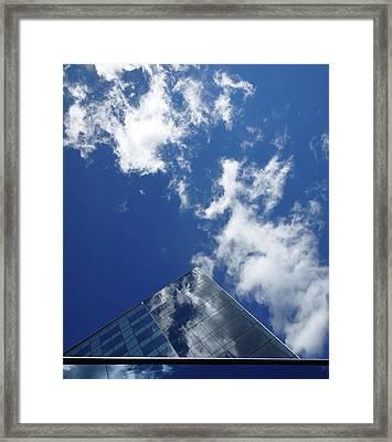 Sky Pyramid Framed Print