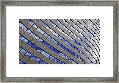 Sky Reflections Framed Print by Mike Reid