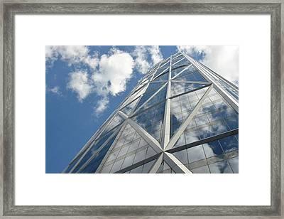 Sky Rise  Framed Print