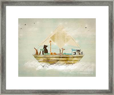 Sky Sailers Framed Print by Bri B