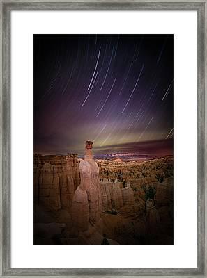 Sky Scraper Framed Print by Edgars Erglis