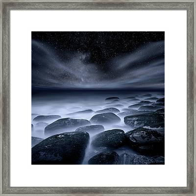 Framed Print featuring the photograph Sky Spirits by Jorge Maia