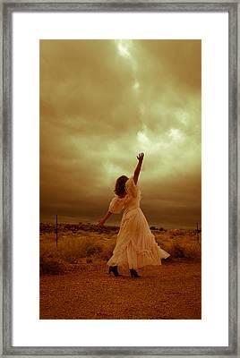 Sky Splitter Framed Print