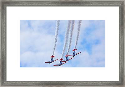 Sky Squadron Framed Print