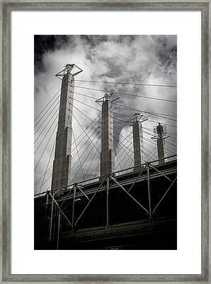 Sky Stations Kansas City Framed Print