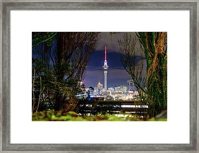 Sky Tower Framed Print