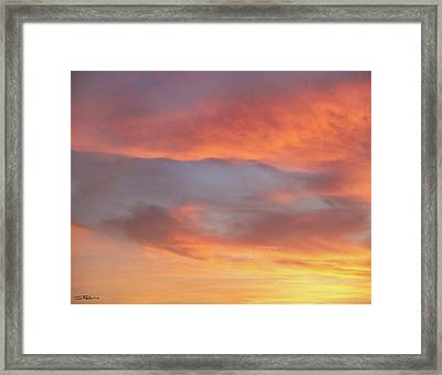 Sky Variation 17 Framed Print